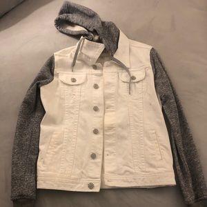 Thread & Supply white/grey Jean Jacket